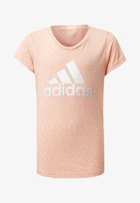 adidas Performance - ID WINNER T-SHIRT - T-shirt med print - pink - 0