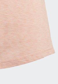 adidas Performance - ID WINNER T-SHIRT - T-shirt med print - pink - 3