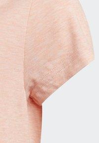 adidas Performance - ID WINNER T-SHIRT - T-shirt med print - pink - 4