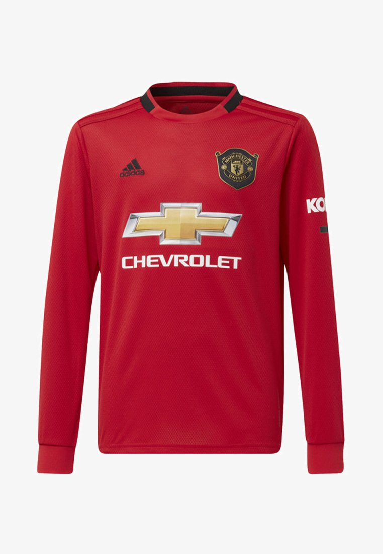 adidas Performance - MANCHESTER UNITED HOME JERSEY - Club wear - red
