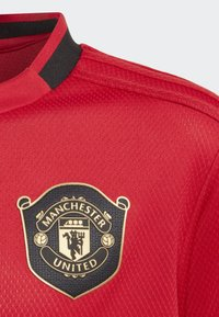 adidas Performance - MANCHESTER UNITED HOME JERSEY - Klubbklær - red - 2