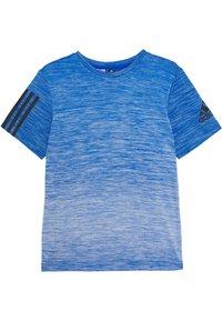 adidas Performance - GRAD TEE - Camiseta estampada - blue - 0