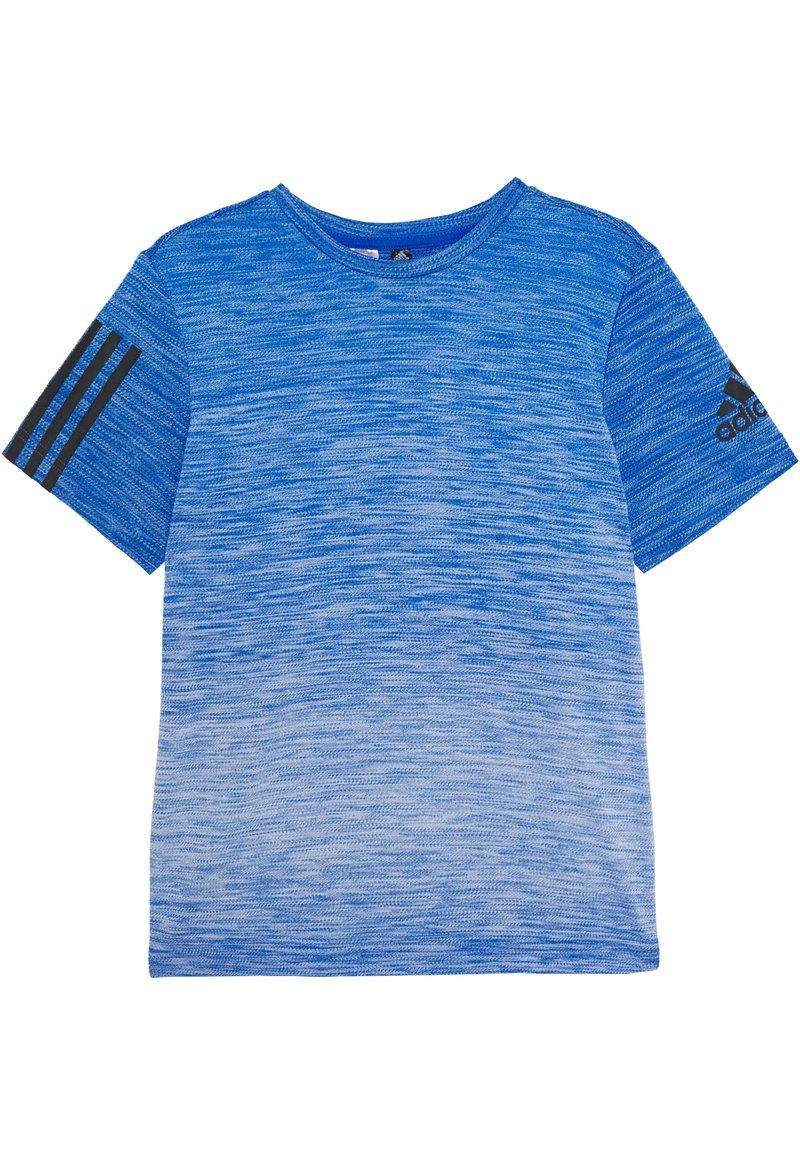 adidas Performance - GRAD TEE - Camiseta estampada - blue