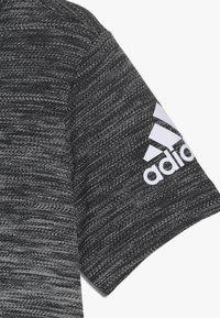 adidas Performance - GRAD TEE - Print T-shirt - black/white - 3