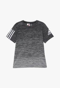adidas Performance - GRAD TEE - Print T-shirt - black/white - 0