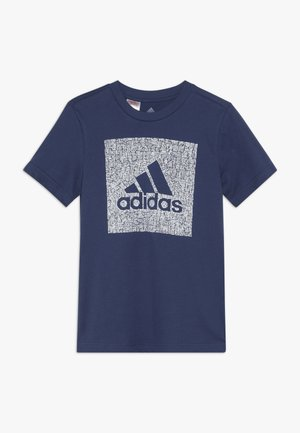 BOS BOX - T-shirt con stampa - dark blue