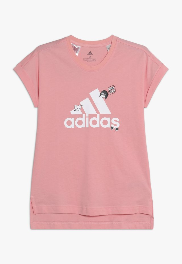 BADGES ATHLETICS SHORT SLEEVE GRAPHIC TEE - T-shirt con stampa - pink