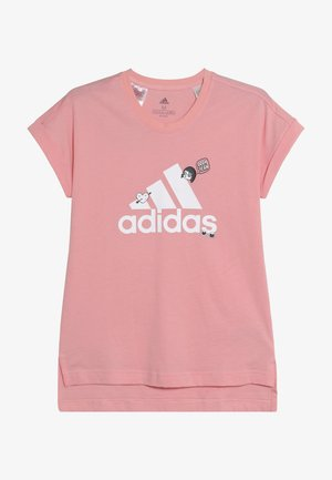 BADGES ATHLETICS SHORT SLEEVE GRAPHIC TEE - T-Shirt print - pink