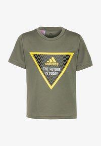 adidas Performance - Camiseta estampada - legend green - 0