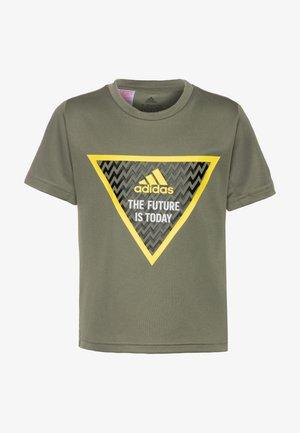 T-shirt imprimé - legend green