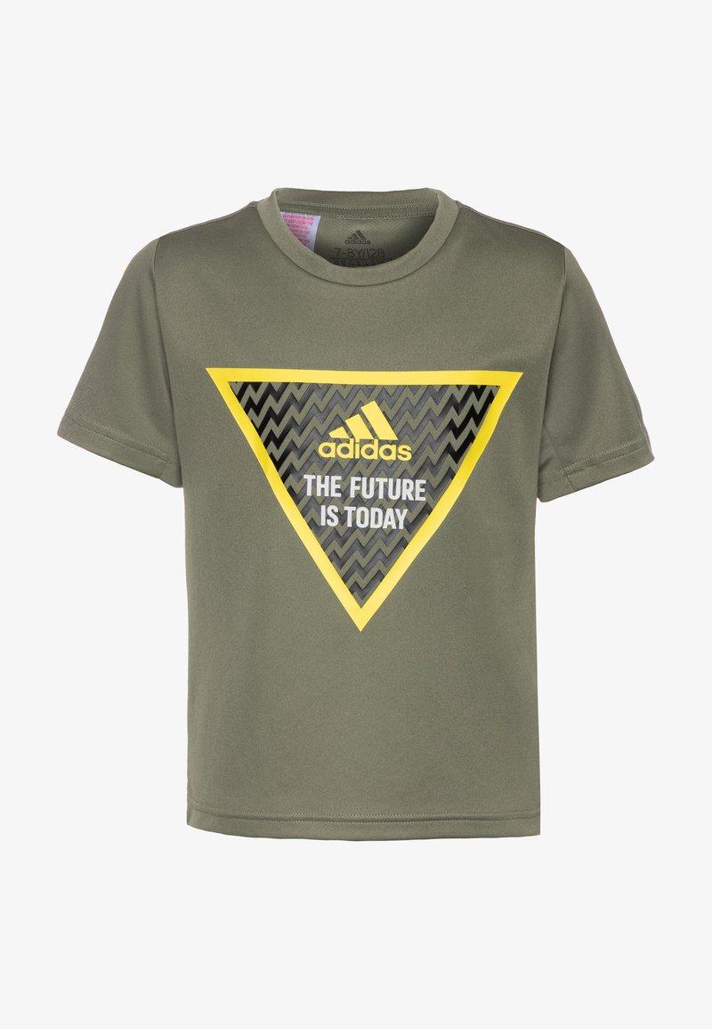 adidas Performance - Camiseta estampada - legend green