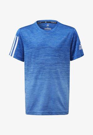 GRADIENT T-SHIRT - Print T-shirt - blue