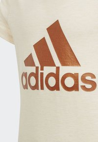 adidas Performance - ID WINNER T-SHIRT - T-shirt print - beige - 2