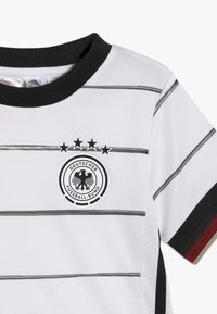 adidas Performance - DEUTSCHLAND DFB HEIMTRIKOT MINI - National team wear - white/black - 6