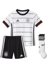 adidas Performance - DEUTSCHLAND DFB HEIMTRIKOT MINI - National team wear - white/black