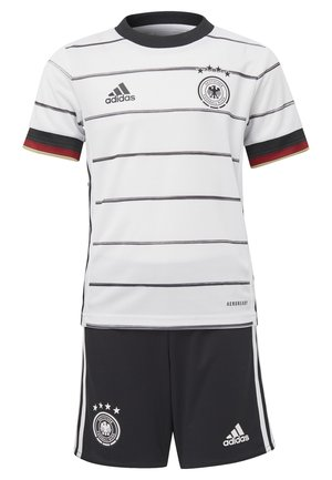 DEUTSCHLAND DFB HEIMTRIKOT MINI - National team wear - white/black