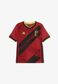 adidas Performance - BELGIUM RBFA HOME JERSEY - Voetbalshirt - Land - collegiate red - 2