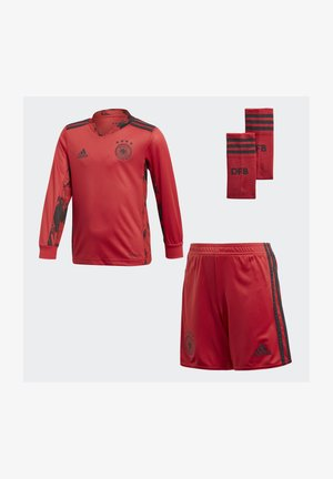DEUTSCHLAND DFB TORWART HEIMTRIKOT - Equipación de selecciones - glory red