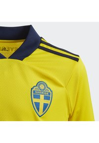 adidas Performance - SWEDEN SVFF HOME JERSEY - Squadra nazionale - yellow/night indigo - 2