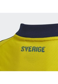 adidas Performance - SWEDEN SVFF HOME JERSEY - Squadra nazionale - yellow/night indigo - 4