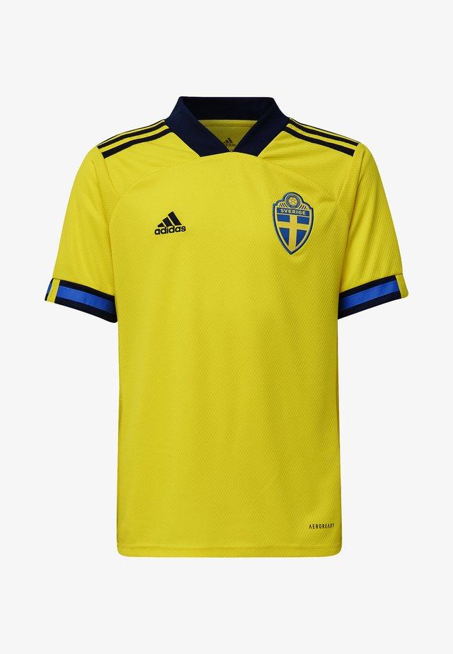 SWEDEN SVFF HOME JERSEY - Equipación de selecciones - yellow/night indigo