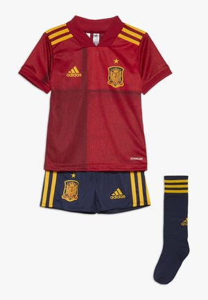 SPAIN FEF HOME JERSEY MINI - Landslagströjor - victory red