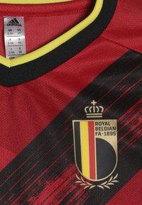 adidas Performance - BELGIUM RBFA HOME JERSEY MINI - Pantaloncini sportivi - red/black/yellow - 5