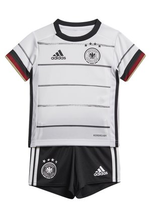 DEUTSCHLAND DFB HEIMTRIKOT BABYKIT - National team wear - white/black