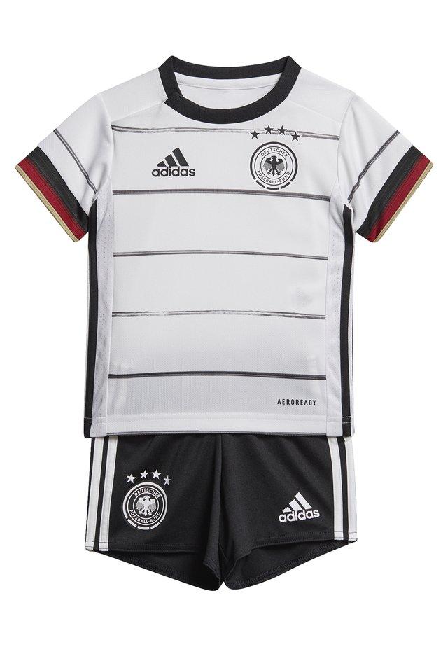 DEUTSCHLAND DFB HEIMTRIKOT BABYKIT - National team wear - white/black