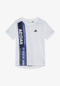 adidas Performance - TEE - Camiseta estampada - white - 2