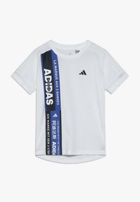 adidas Performance - TEE - Camiseta estampada - white - 0
