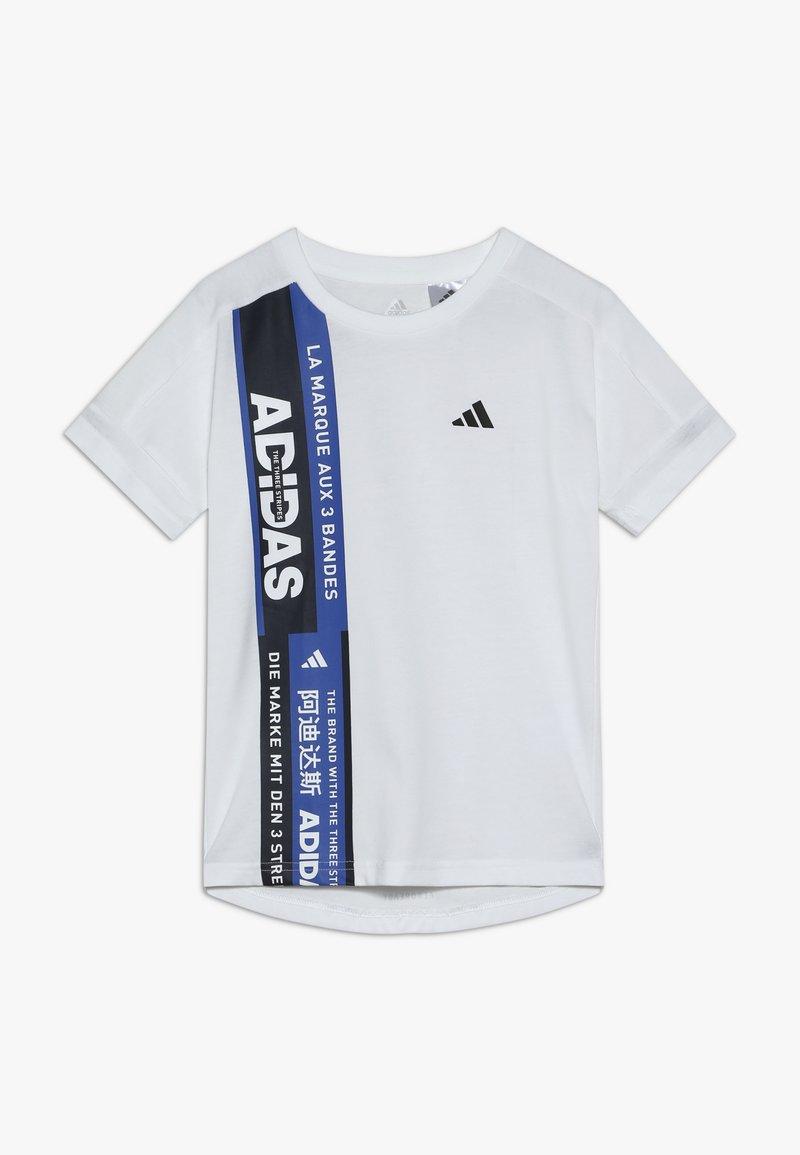 adidas Performance - TEE - Camiseta estampada - white