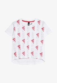 adidas Performance - TEE - T-shirt con stampa - white - 2