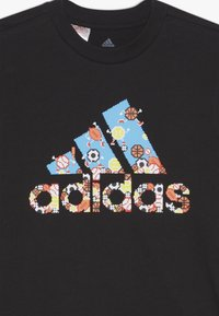 adidas Performance - GAME - T-shirt con stampa - black - 3