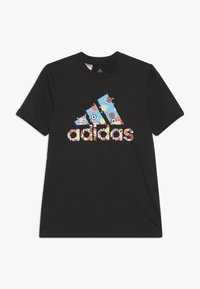 adidas Performance - GAME - T-shirt con stampa - black - 0