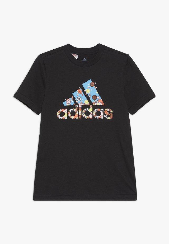 GAME - Camiseta estampada - black