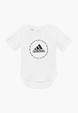 BOLD - Camiseta estampada - white/black