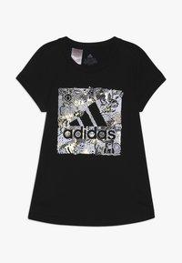 adidas Performance - BOS BOX - Print T-shirt - black - 0