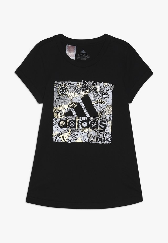 BOS BOX - Camiseta estampada - black