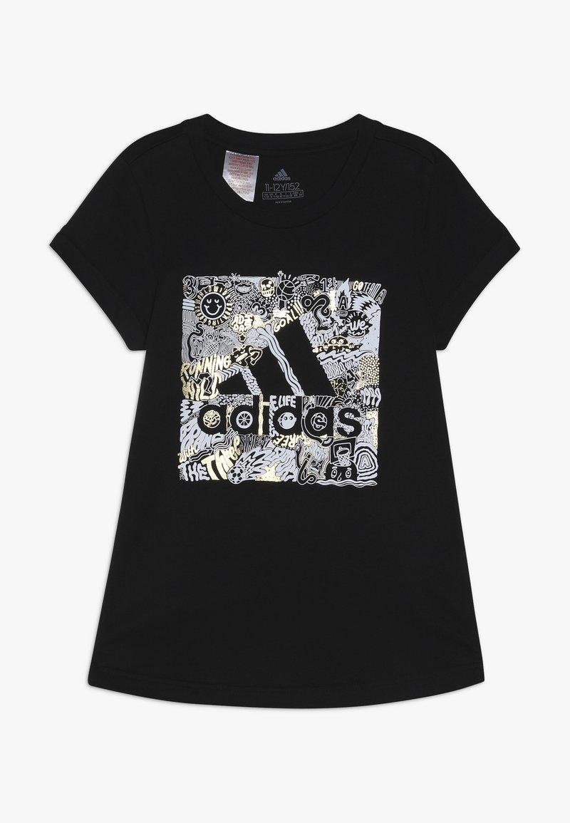 adidas Performance - BOS BOX - Print T-shirt - black