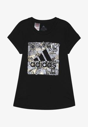 BOS BOX - T-shirt con stampa - black