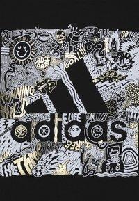 adidas Performance - BOS BOX - Print T-shirt - black - 3
