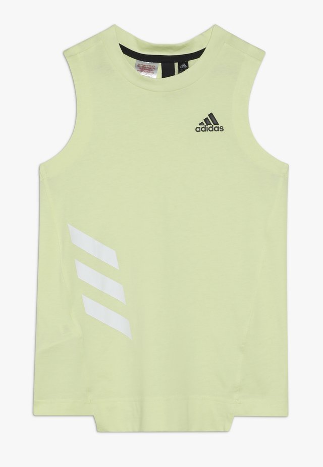 TANK - Top - yellow/white