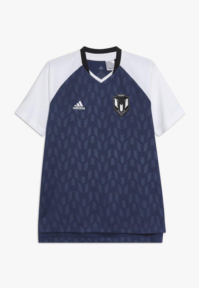 MESSI ICON JERSEY - Camiseta estampada - dark blue