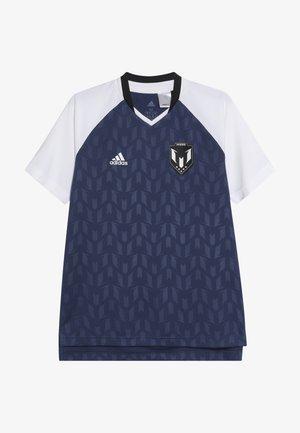 MESSI ICON JERSEY - T-shirt z nadrukiem - dark blue