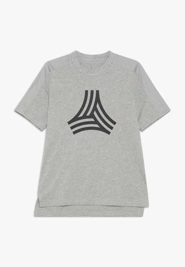 TEE - Camiseta estampada - medium grey heather/black