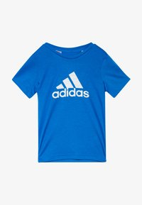 adidas Performance - PRIME TEE - Camiseta estampada - blue/white - 2