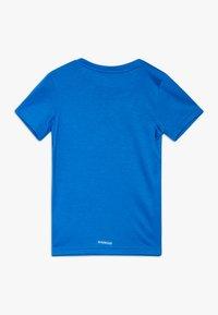 adidas Performance - PRIME TEE - Camiseta estampada - blue/white - 1