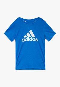 adidas Performance - PRIME TEE - Camiseta estampada - blue/white - 0