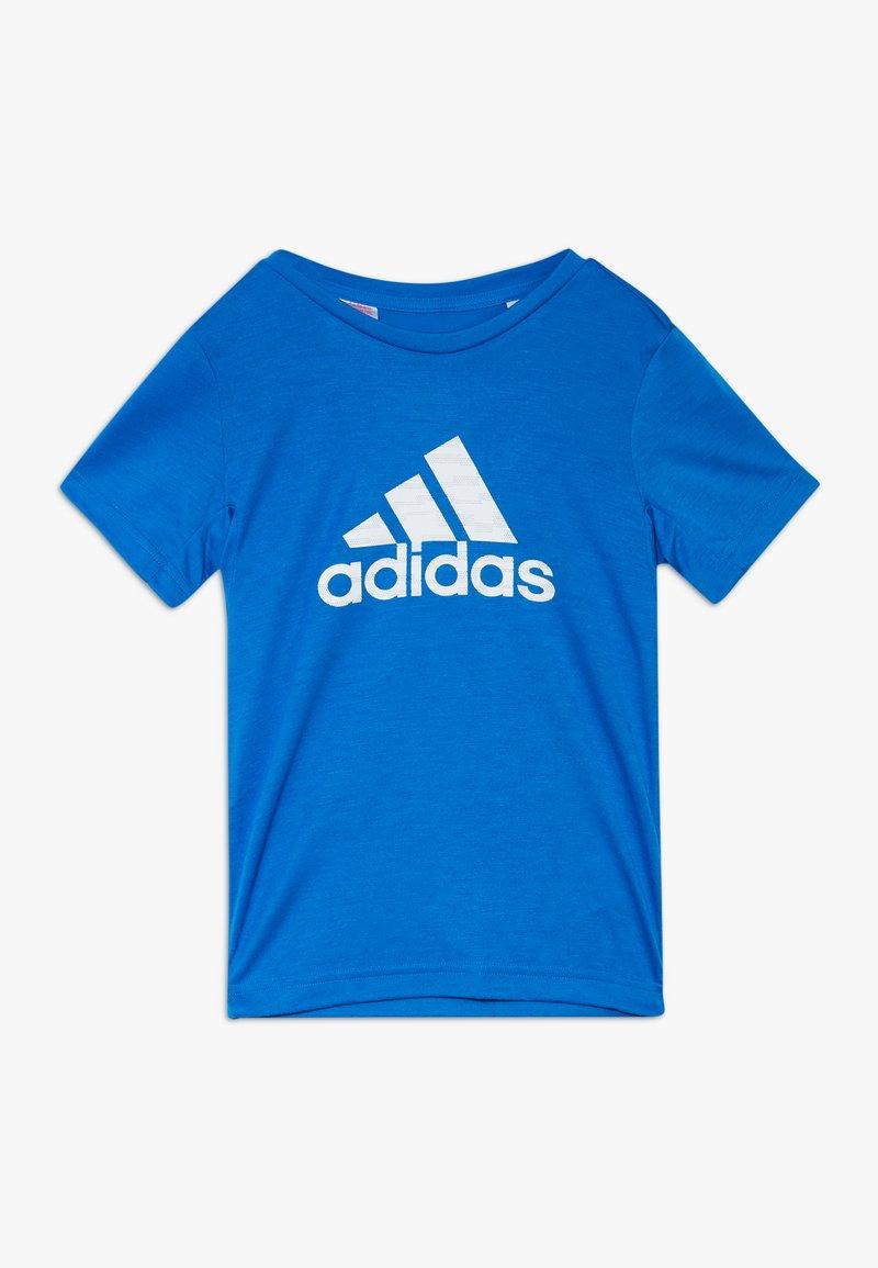 adidas Performance - PRIME TEE - Camiseta estampada - blue/white